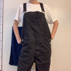 BDG Urban Outfitters black overalls